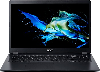 "Ноутбук Acer Extensa EX215-52-34U4 15.6"" 1920x1080 / Core i3 1005G1 1.2Ghz/4Gb/128SSDGb/noDVD/Int:UMA/Cam/BT/WiFi/war 1y/1.9kg/Black/DOS + HDD upgrade kit (NX.EG8ER.014)"