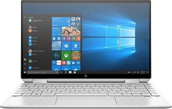 "Ноутбук HP Spectre x360 13-aw2021ur Touch/13.3"" FHD BView Antirefl. IPS/Privacy 1000nits/Core i7 1165G7 quad/16GB /512PCIe/Intel Iris Xe/W10/4cells 60Whr/Natural silver/Fing-prn (2X1X1EA)"