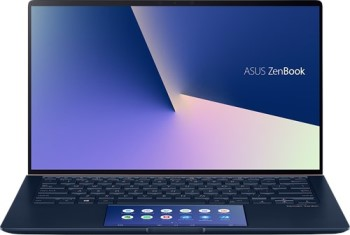 "Ноутбук Asus ZenBook UX434FQ-A6072T + bag+cable 14"" 1920x1080 IPS/Core i5 10210U 1.6Ghz/8Gb/512SSD/noDVD/Ext:GF MX350 2Gb/Cam/BT/WiFi/w1y/1.26kg/RoyalBlue/W10 + ScreenPad (90NB0RM1-M00960)"