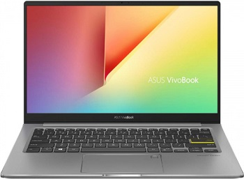 "Ноутбук Asus VivoBook S S333JP-EG001T 13.3"" 1920x1080 мат /Core i5 1035G1 1Ghz /8Gb/512SSD/noDVD/Ext:GF MX330 2048Mb /Cam/BT/WiFi/w1y/1.2kg/Indie Black/W10 (90NB0QP4-M00930)"