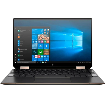 "Ноутбук HP Spectre 13 x360 13-aw0014ur 13.3"" 1920x1080 IPS/Touch/Core i7 1065G7 1.3Ghz/16Gb/1000PCISSD/noDVD/Int:Iris Plus Grs/w3y/Nightfall black/W10 + Stylus ; Fingerprint; Thunderbolt (8XL31EA)"