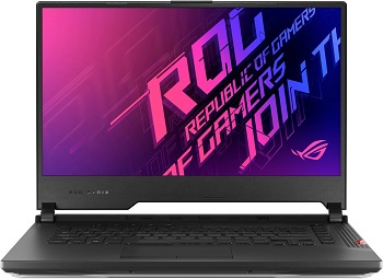 "Ноутбук Asus ROG Strix SCAR 15 G532LWS-AZ155 15.6"" 1920x1080 мат, 240Hz IPS/Core i7 10875H 2.3Ghz/16Gb/2x512SSD/noDVD/Ext:RTX2070 Super 8Gb/BT/WiFi/w1y/2.3kg/Black/DOS+NumPad (90NR02T1-M02910)"