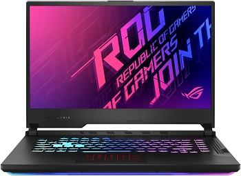"Ноутбук Asus ROG Strix G15 G512LV-HN183T 15.6"" 1920x1080 мат 144Hz/Core i7 10750H 2.6Ghz/16Gb/512SSD/noDVD/Ext:RTX2060 6Gb/BT/WiFi/w1y/2.3kg/black/W10 (90NR04D3-M03890)"