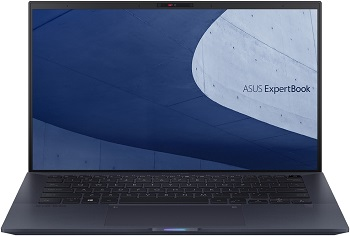 "Ноутбук Asus Expertbook B9450FA-BM0341 66Вт/ч бат+bag+cable 14"" 1920x1080 мат IPS/Core i5 10210U 1.6Ghz/8Gb/512SSD/noDVD/Int:UHD Gr-cs/Cam/BT/WiFi/w1y/0.99kg/Black/DOS (90NX02K1-M08240)"