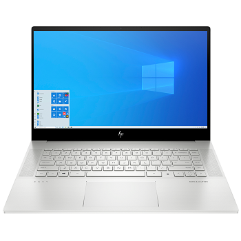 "Ноутбук HP Envy 15-ep0040ur 15.6"" 3840x2160 OLED/Touch/Core i7 10750H/16Gb/1024PCISSD/noDVD/Ext:GTX 1660Ti 6Gb/Cam/WiFi/83WHr/w1y/NaturalSilver/W10+fingerprint (22P34EA)"