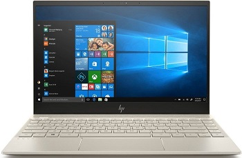 "Ноутбук HP Envy 13-aq1014ur 13.3"" 1920x1080 IPS/Core i5 10210U/8Gb/256PCISSD/noDVD/Ext:GF MX250 2Gb/65WHr/w1y/Pale Gold/W10 (12C93EA)"