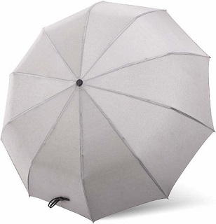 Зонт автоматический Umbracella Super Large Automatic Umbrella (серый)