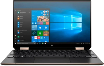"Ноутбук HP Spectre 13 x360 13-aw0007ur 13.3"" 1920x1080 IPS/Touch/Core i5 1035G4/8Gb/512PCISSD/noDVD/Int:Iris Plus/w3y/Nightfall black/W10+Fingerprint; Thunderbolt (8KK10EA)"